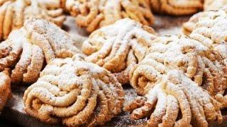 Печенье домашнее из мясорубки.Cookies from home grinder.