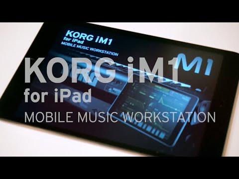 KORG iM1 for iPad  MOBILE MUSIC WORKSTATION