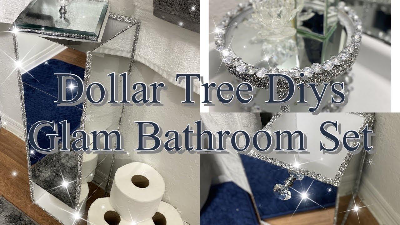 2020 Dollar Tree Diys / DIY Mirror Decor Ideas / DIY Bathroom Decor