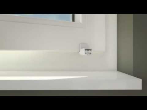 klemmfix plissee mit crush stoff von victoria m montage mit klemmfix klemmhalter youtube. Black Bedroom Furniture Sets. Home Design Ideas