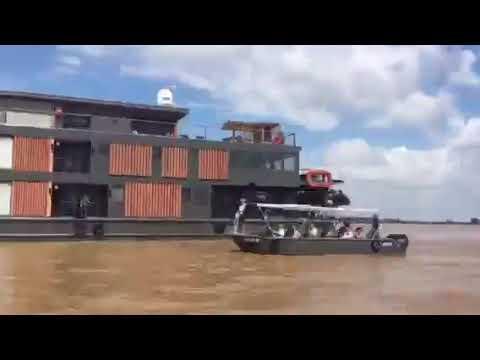 Aqua Mekong Luxury floating hotel