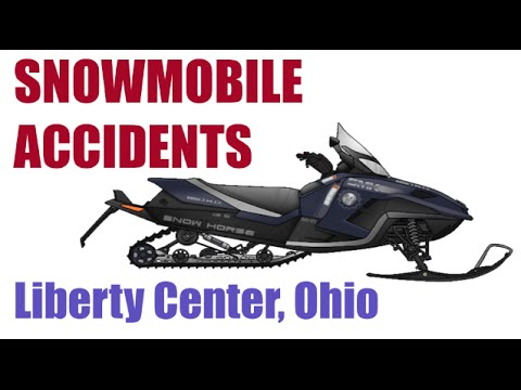 Ohio Personal Injury Attorney - Snowmobile Accidents - Liberty Center, OH