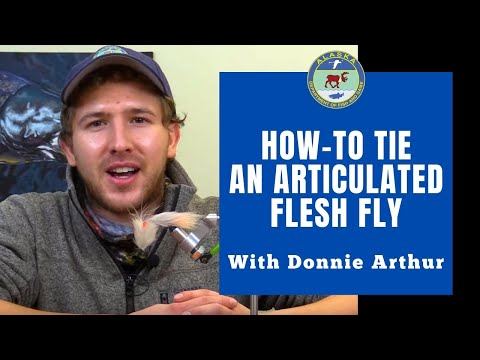 How To Tie An Articulated Flesh Fly