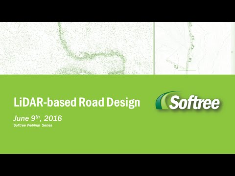 Road Design Using LiDAR