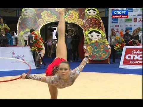 Senior group 10 clubs final+Individual senior Hoop and Ball EF-GP Moscow 2013-TV coverage