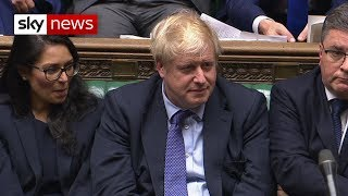 BREAKING NEWS: Boris Johnson pauses Brexit bill after timetable vote loss
