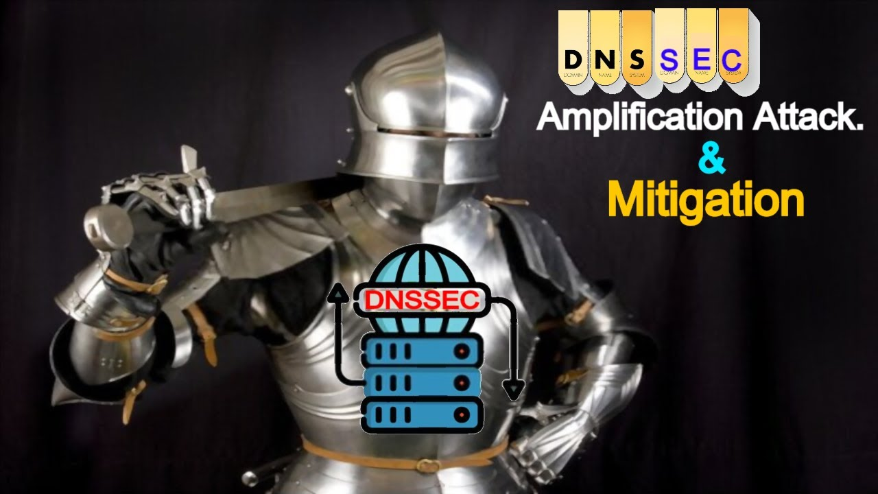 Cyber Security -DNSSEC, Amplification Attacks, & MITIGATION of  Amplification Attacks (with EXAMPLES)