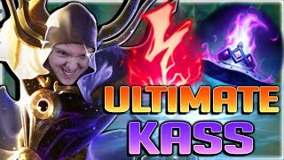 GODWALKING ON THE RIFT?!? 1 SECOND ULT COOLDOWN!! ULTIMATE HAT KASSADIN MID GAMEPLAY - Season 8