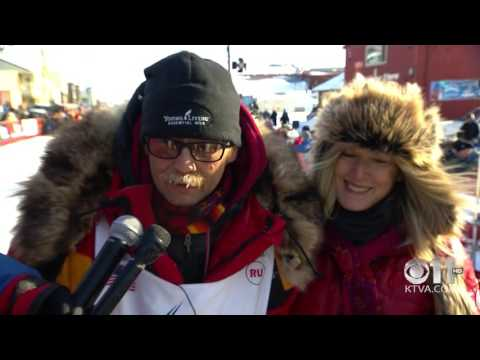 Iditarod 2017 Full Finish - Mitch Seavey wins in record time
