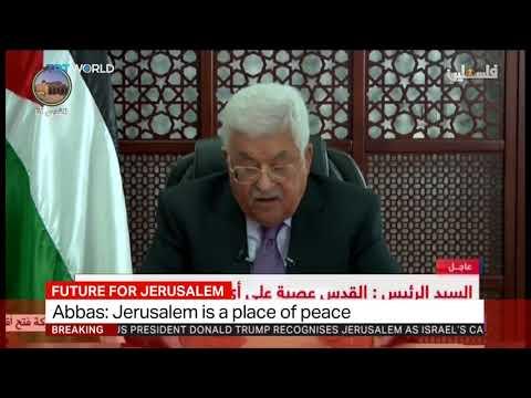 Mahmoud Abbas condemns Trump's move on Jerusalem