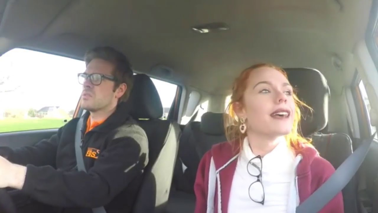 Hughes Driving Fake Ella School Youtube -