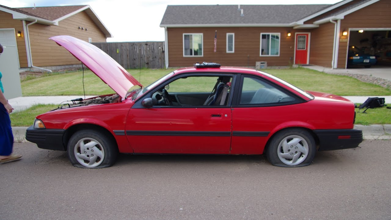 1994 Chevy Cavalier Cold Start And Short Drive Youtube