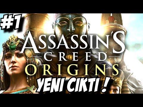 ASSASINLERIN DOĞUŞU ! Assassin's Creed Origins Türkçe #1
