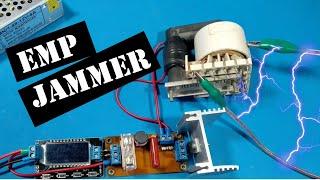 Универсальная ЕМП глушилка электроники . Остановит даже электросчетчик!!! EMP JAMMER БЕЗ ПАЙКИ!!!