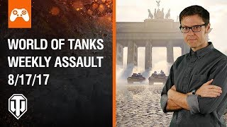 World of Tanks Weekly Assault #16