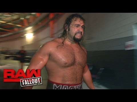 Rusev goes berserk after his US Title rematch with Roman Reigns: Raw Fallout, Sept. 26, 2016