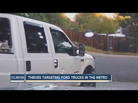 Video captures thieves stealing pickup truck