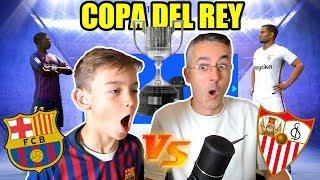 FC BARCELONA VS SEVILLA - COPA DEL REY - FIFA 19