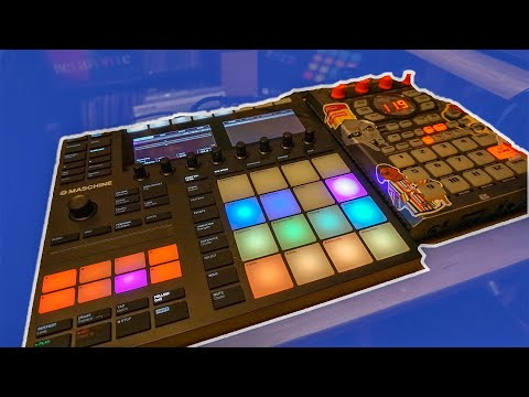 How to set up Maschine MK3 and Roland SP-404! || Sarah2ill