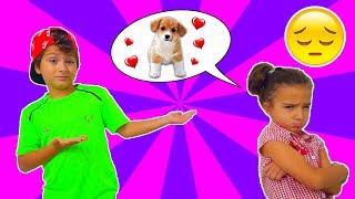 Почему Аминка РАССТРОЕНА!!! Родители НЕ ХОТЯТ ПОКУПАТЬ Собаку?
