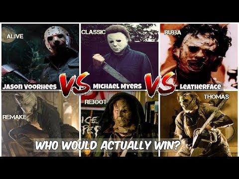 Jason Voorhees Vs Michael Myers Vs Leatherface, Who ACTUALLY WINS