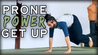 Prone Power Get Up | Natural Movement Skill
