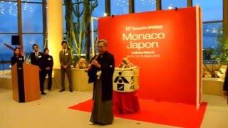 L'hymne monégasque lors de Monaco-Japon thumbnail