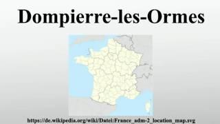 Dompierre-les-Ormes
