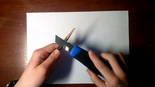 Уроки рисования для начинающих. Урок 1. как правильно точить карандаш