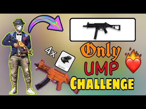 Only UMP Challenge - Ranked Match || Garena Free Fire