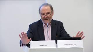 Professor Timothy Garton Ash: What story should Europe Tell ?