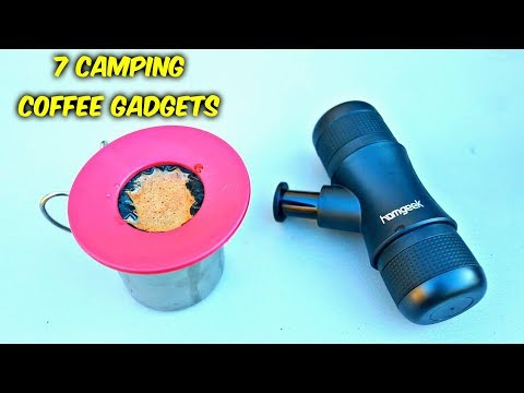 7 Camping Coffee Gadgets put to the Test