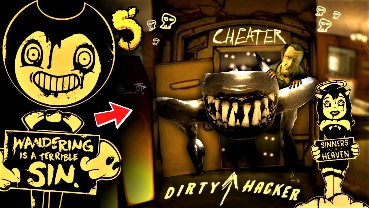 HACKING BENDY CHAPTER 5 | Bendy and The Ink Machine ...