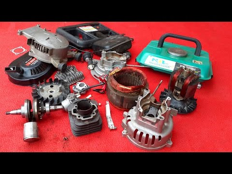 How to repair portable generator part 1 of 3
