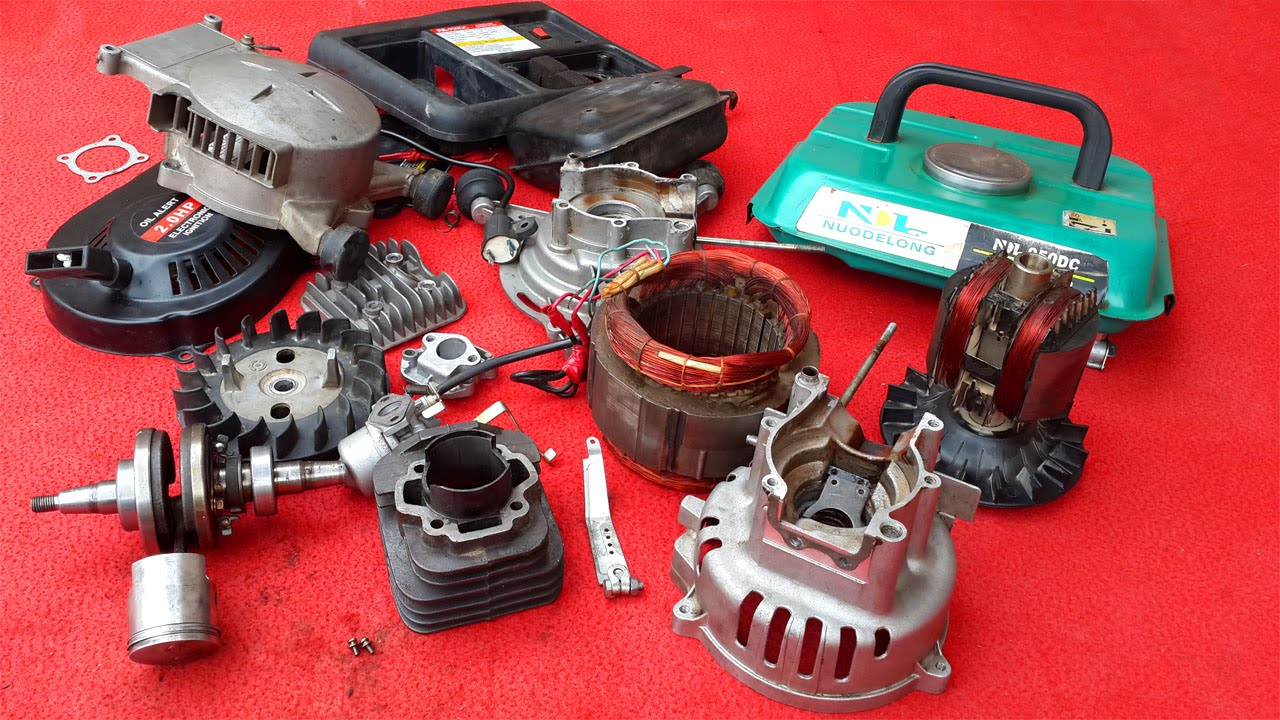 medium resolution of how to repair portable generator part 1 of 3
