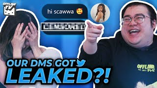 OUR DMS WERE LEAKED - GUESS THAT DM ft. DisguisedToast
