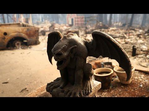 Se dispara el número de víctimas de los incendios en California