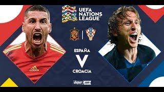 ESPAÑA 6 - 0 CROACIA | UEFA NATIONS LEAGUE | PALIZA HISTORICA