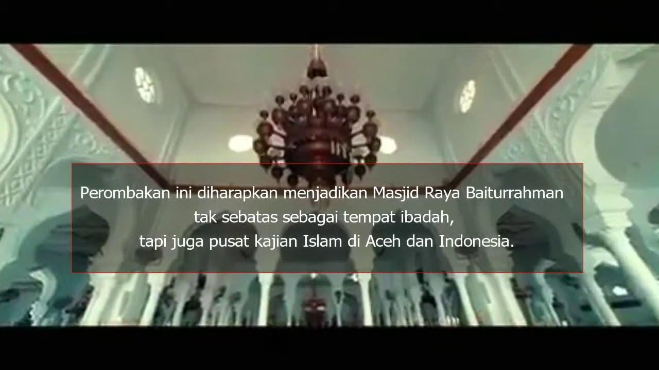 Masjid Raya Baiturrahman Dulu Dan Sekarang Yang Begitu Mempesona