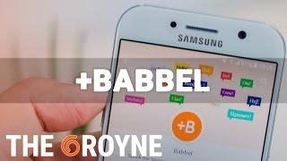 Baixar +Babbel, review en español