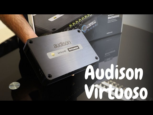 The Brand New Audison Bit One HD Virtuoso | Unboxing