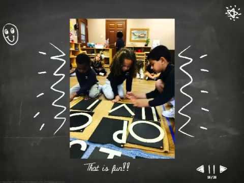 Montessori Alphabet Activity - Pebblecreek Montessori in Allen