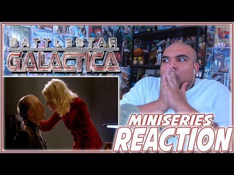 Battlestar Galactica REACTION Mini Series Part 1
