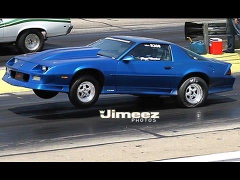 ROSS BARKER'S '92 RS CAMARO RUNS 10 03@134 18 AT BYRON 6-23-13