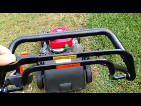 Honda HRX 217 Look At, And Cold Start. Best Mower!