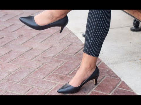 bd1baa28d5 FYT Pump - Custom-size classic pumps for the working woman - YouTube
