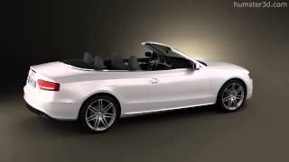 Audi S5 Convertible 3D Model From CreativeCrash.com