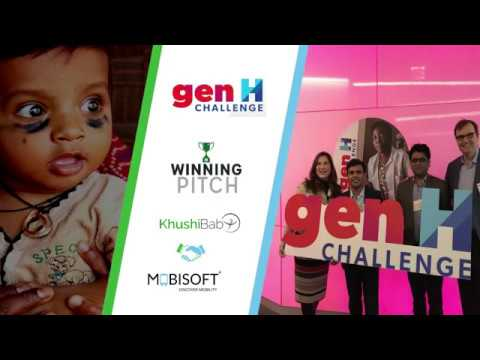 Khushi Baby's Winning Pitch at the Johnson & Johnson #GenH Challenge