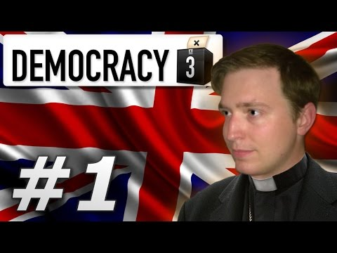 Democracy 3 | Holy United Kingdom - Year 1