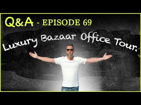 Q&A #69  You Asked for It — Luxury Bazaar Office Tour thumbnail